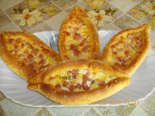 Pide with Feta Cheese and Cheese
