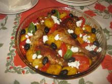 Greek-Style Chicken Legs