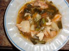 Chicken Stew with Green Onions
