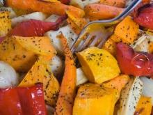 Roasted Vegetables with Seeds