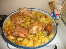 Chicken Legs with Potatoes