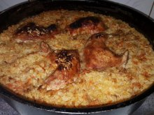 Appetizing Chicken with Rice