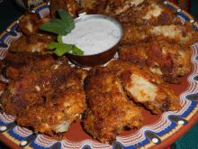 Breaded Chicken Wings in the Oven