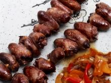 Chicken Heart Skewers