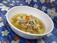 Boiled Chicken Stew