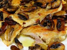 Chicken Scaloppini with Mushrooms