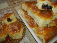 Pitas with Marmalade Filling