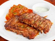 Marinated Grilled Pork Ribs