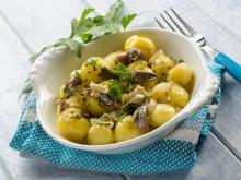 Warm Salad with Potatoes and Capers
