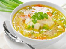Potato Soup with Winter Flavors