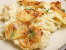 Potatoes with Cream and Dill