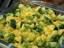 Potatoes with Broccoli and Cheddar