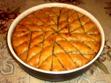 Rolled Out Turkish Baklava