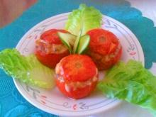 Appetizer with Stuffed Tomatoes