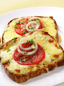 Toasted Sandwiches with Cheese