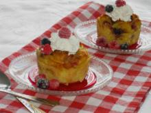 Bread Pudding with Fruits