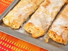 Pumpkin and Cinnamon Phyllo Pastry