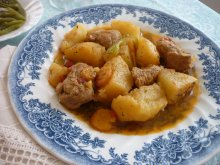 Potato Stew with Pork