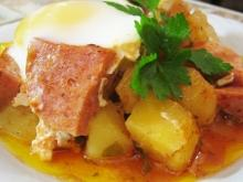 Delicious Dish with Sausage and Potatoes