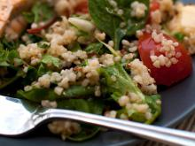 Quinoa with Dock
