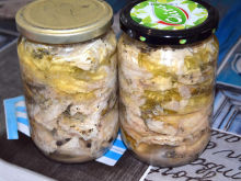 River Fish in Jars for the Winter