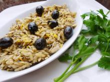 Orzo with Olives