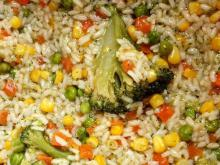Risotto with Vegetable Mix