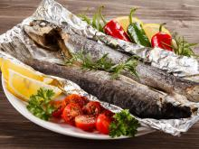Oven Baked Trout
