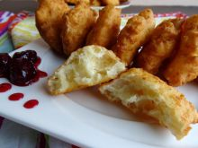 Quick, Scruffy Fritters with Feta Cheese