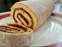 Swiss Roll with Jam