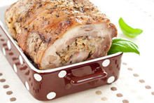 Stuffed Pork Neck
