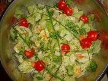 Salad with Iceberg Lettuce