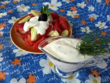 Salad Dressing with Yoghurt