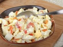 Salad of Red Potatoes and Eggs