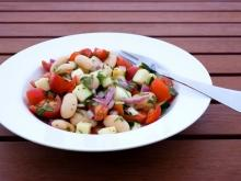 Brandy Salad with Beans