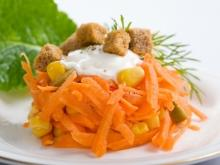 Carrot Salad with Corn