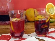 Sangria with Cherries
