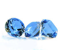 Sapphire for faithfulness and long marriage