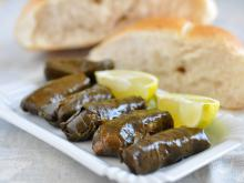 Sarma with Meat and Olives