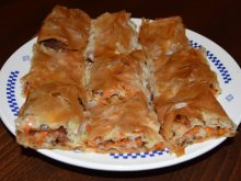 Country-Style Phyllo Pastry Pumpkin Pie