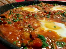 Shakshouka with Feta Cheese