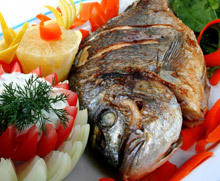 Fried Carp with Parsley