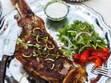Lamb Leg with Yoghurt