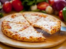 Grilled Pizza with Onions and Feta Cheese