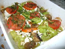 Hunter-Style Feta Cheese Appetizer