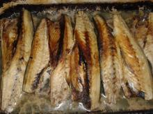 Baked Mackerel with Vinegar