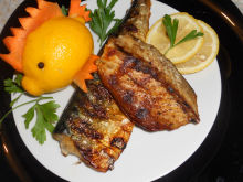 Tasty Grilled Mackerel