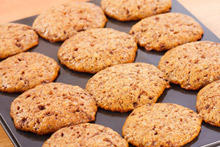 Oatmeal Cookies with Nuts and Fruits