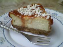 Cake with Cottage Cheese and Biscuits