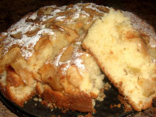 Easy Vanilla Apple Cake